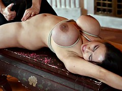 BDSM. Chubby asian Tigerr Benson gets punished by her master