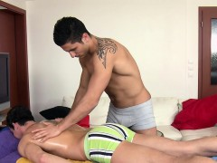 Sexual dildo play for gracious homosexual hunk