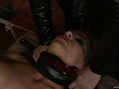 bondage girl squirts