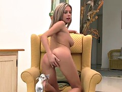 Tracy - adult blonde sultry solo