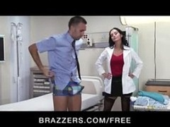 Big-tit Brunette Bitch Doctor Ava Addams Rides Patient