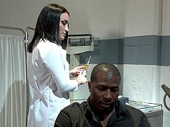 Punishing his doctor her for keeping him locked up