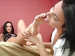 lesbo worship youthful feet