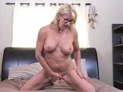 Blondine, Hd, Masturbation, Reif, Solo