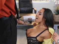 Stretching Pussy In My Office Priya Price