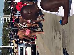 Black beach 2017 it goes down in my town