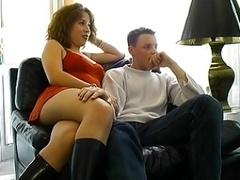 Young and fresh French Couple no 1 Time On Camera
