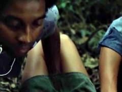 Menina e a o estuprador (erotic scene trio) MMF