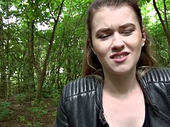 Misha Cross shows off ass and screwed
