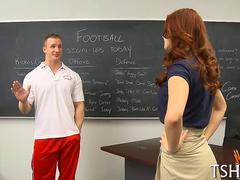 Blasen, Hardcore, Schulmädchen, Lehrer, Jungendliche (18+)