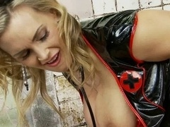 British whore Tanya Tate gets fucked in a fake jail