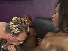 ebony tgirl pounds ass