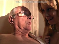 Old Young Porn Grandpa likes to fuck young girls pussy lick