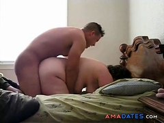 Horny and lonely tubby mature hires a gigolo