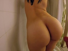Nice ass fucked in shower