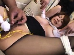 Asian Babe Threesome Anal Pussy Fingered