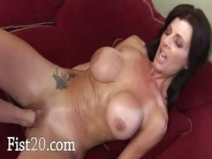 Brutal vagina fist-fucking of a couple of xxx stars