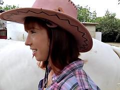 Mofos  Save a horse ride a cock