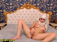 beauty muslem girl masturbate
