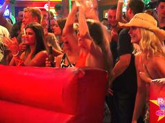 Naked Bull Riding Spring Break