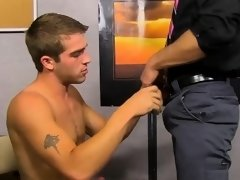Handsome jocks Austin Ried and Kirk Cummings banging hard