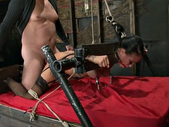 Raven Bay Gets Tied And Abused
