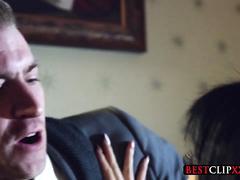 Poon Raider a XXX Parody starring hot brunette Rina Ellis
