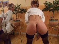 hot mom i`d like to fuck shows her love hole masturbate
