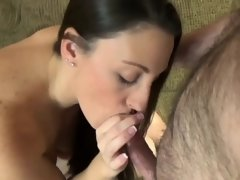 Curvy housewife Melanie Hicks is banging a lucky geek