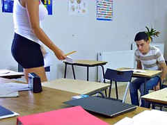 Student gets Double Teamed by Teachers