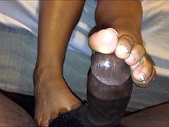 Latina Footjob III