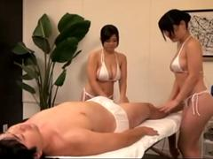 Double Highly Erotic Massage