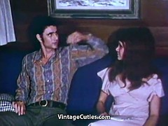 Cute Young Girl Penetrated Hard (1970s Vintage)