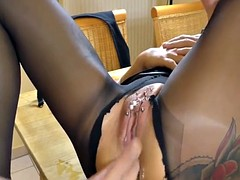 Tattoo Extreme anal fist orgasms