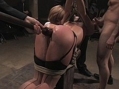 Anal, Bondage domination sadisme masochisme, Bondage, Groupe, Hard, Humiliation, Punition, Attachée