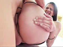orgasmic drilling for meaty hairy cunt and tight asshole of petite alex moore