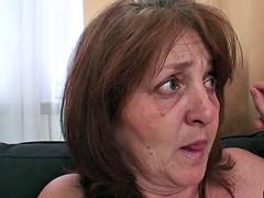 Guy fucks his old girlfriend's mother