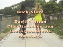 Daejha Milan & Claudia DeCorazon vs Mandingo and Lex Steele