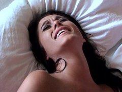 Américain, Chambre à dormir, Plantureuse, Tir de sperme, Mignonne, Petite amie, Hard, Réalité