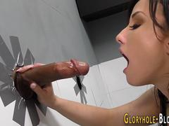 Pijpbeurt, Sperma shot, Muurgat, Hardcore, Interraciaal