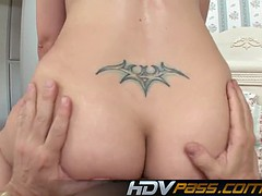 Brunette Babe Ava Rose Big Ass Face Sitting