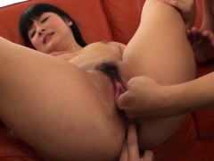 An Koshi leads large cock right up the ass hole