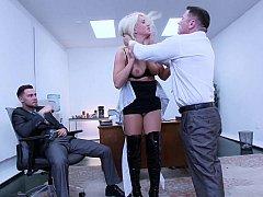Блондинки, Доминирование, Секс без цензуры, Унижение, Наказание, Жесткий секс, Секретарша