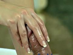 Gros seins, Fétiche des pieds, Massage, Orgasme, Softcore