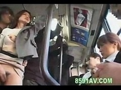 A petite extra action on the bus while she has an intercourse this lad