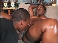 Black booty boned with miles of hard wet schlong