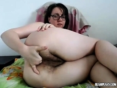 Amateur, Poilue, Masturbation, Solo, Webcam
