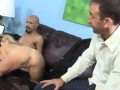 Teen Paris Gables takes BBC in front of her father