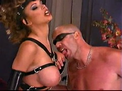 suze randall photoshot sexy blond girl in latex