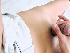 schöne paula b ts Asian brunette loves solo masturbation